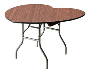 Great Heart Shaped Table