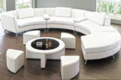Milan White Lounge Collection Rentals
