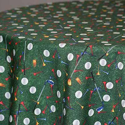 golf linen & tablecloth rentals