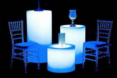 Illuminated Furniture Rentals
