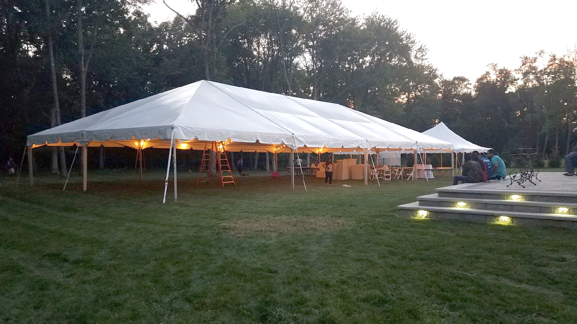 Frame Tent 40 X80 Rental B And B Tent Amp Party Rental