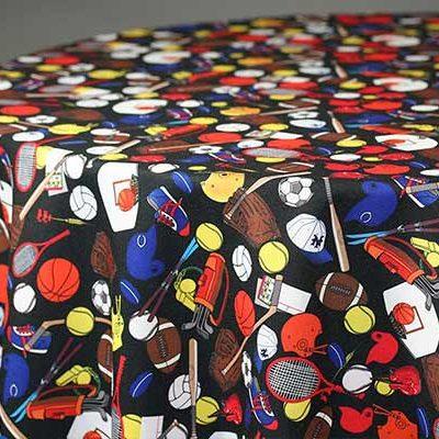 sports linen & tablecloth rentals