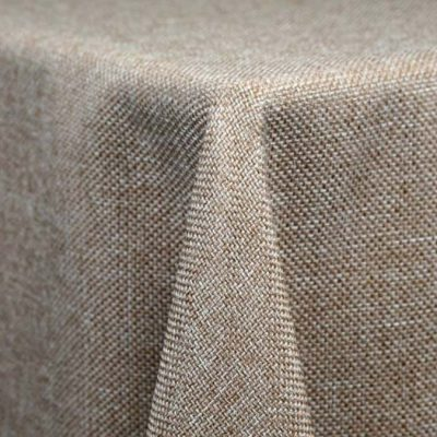 Faux Burlap Linen & Tablecloth Rentals