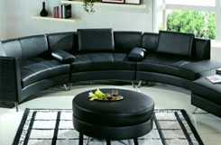 MILAN BLACK LOUNGE COLLECTION RENTALS