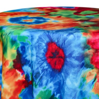 Tie Dye Linen & Tablecloth Rentals